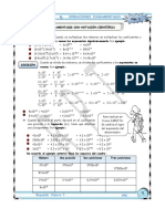 operaciones con notacion cientifica