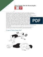 5 Sugestões de 'Treino Super Série' de Musculação
