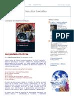 Conceptos de Ciencias Sociales_ Concepto de Poderes Fácticos