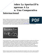 <h1>Apuntes Sobre La Aportación De Las Empresas A La Economía. Una Comparativa Internacional</h1>