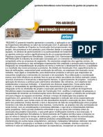 Diretrizes para Implantar a Engenharia Simultânea como ferramenta da gestão de projetos da Construção Civil