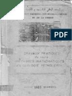 Travaux pratiques Méthodes Mathématiques en Géologie Pétrolière