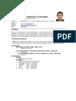 CurriculumVitaeDaniel Huaytalla Galindo