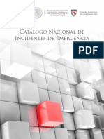 Catalogo Nacional de Incidentes de Emergencias
