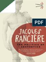 Ranciere, J. - Politics of Aesthetics