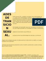 Las Infecciones de Transmisión Sexual