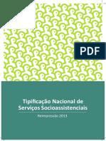 Tipifi cação Nacional de Serviços SocioassistenciaisTipificação Nacional Dos Serviços Socioassistenciais