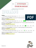 201291696 Statistique Exercice