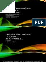 Cardiopatías Congénitas Cianógenas y No Cianogenas