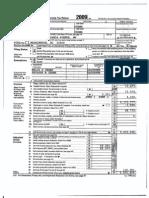 President Obama 2010 Tax Return
