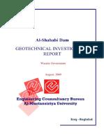 Geotechnical Exploration Shahabi Dam FINAL2