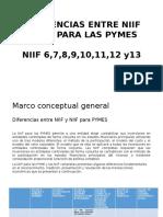 Diferencias Entre Niif y Niif Para Las Pymes