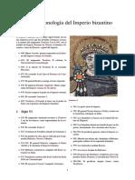 Cronologia Del Imperio Bizantino
