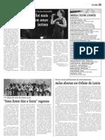 Artigo sobre o Concerto de Rodrigo Leão  - 'A Mãe' - Alcobaça
