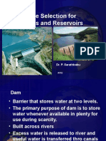 Site Selection for Dams & Reservoirs (Original)