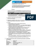 TDR SECRETARIA-II Convocat0ria