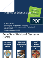 olbr habits of discussion and protocols