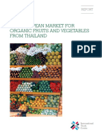 01 - The European Market for Organic Fruit-And Vegetables From Thailand