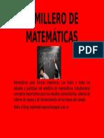 Semillero de Matemáticas