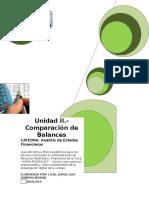 Guia Unidad II - Comparación de Balances