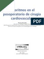 LIBRO Algoritmos en El Posoperatorio de Cirugía Cardiovascular