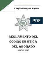 Etica Reglamento Del Procedimiento Disciplinario