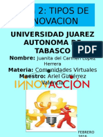Tema 2 tipos de innovacion