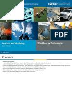 Eere Wpp 2014 Peer Review AnalysisandModeling