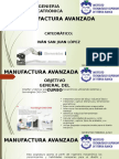Unidad I-Introducción a La Manufactura Avanzada