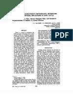 Van Soest (Determinación de Hemicelulosa, Celulosa y Lignina)