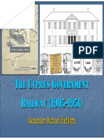 The Cyprus Government Railway (1905-1951)