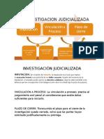 INVESTIGACIÓN JUDICIALIZADA