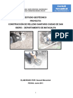 Informe Estudio Geotecnico San Isidro Mat