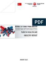 Turkish Healthcare Industry Report 2009