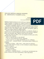 Pseudiodinios y Ramon Llul