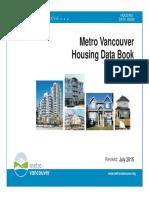 METRO VAN Housing Data Book