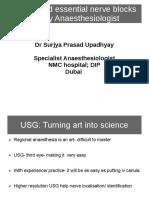 USG Guided  essential Nerve Blocks