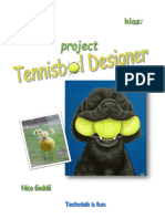 project tennisbal designer techniek is fun 2 tif