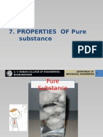 7- Properties of Pure SubstanceS