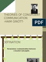 Theories of Congruent Communicatio-1