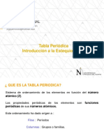 Clase 2 Tabla Periodica - Introduccion a Ala Estequiometrìa