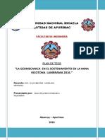 GEOMECANICA APLICADA PARA EL SOSTENIMIENTO DE LA MINA RICOTONA .pdf