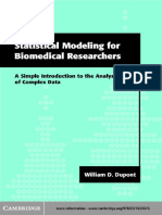 Statistical tools for Biomedical Research