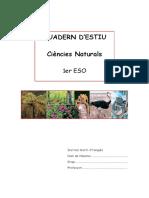 Material de Pendents i Quadern Estiu 1er ESO