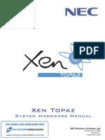NEC EPABX Instln Manual