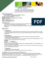 Jeu Francais Vocabulaire Ecole