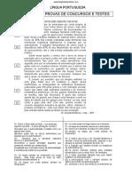 Portugues - Provas e Testes