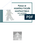 Manual de Rehabilitacion Respiratoria Para Personas Con EPOC (1)