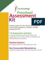 Sample Assessment Kit