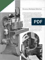 Monotype Multihead Stitcher